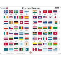 FLAG-PUSLESPIL VERDEN